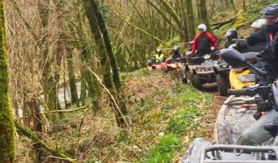 Rando quad en Corrèze et Vallée de la Dordogne organisée par Quad Bike 19 pour des clients de Mayenne !!