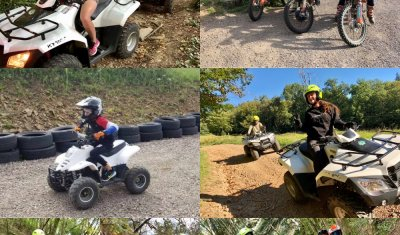 Pour Noël, offrez un bon cadeau pour une randonnée en quad ou en moto en Corrèze !
