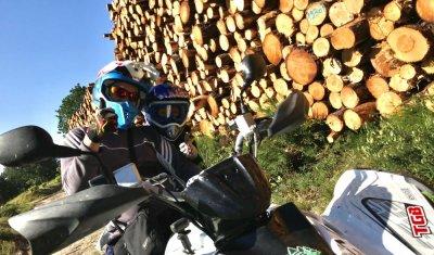 Père et Fils en mode rando quad chez Quad Bike 19