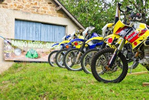 Nouveau: location de motos !