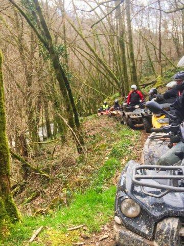 Randonnée de deux jours en pleine nature dans la Vallée de la Dordogne