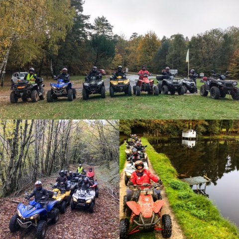 Week-end de Rando en quad à Corrèze !