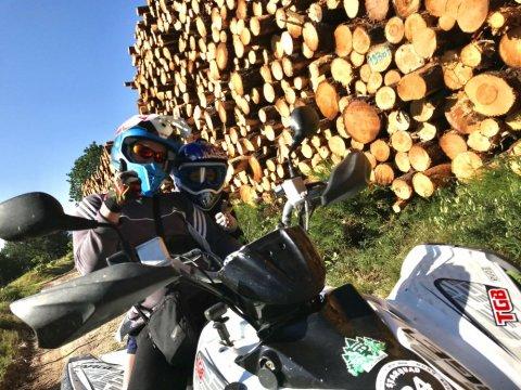 Organiser un randonnée en quad en pleine Nature à Saint Hilaire-Peyroux