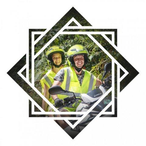 Offre pour une randonnée guidée en moto pour la St Valentin à Saint Hilaire-Peyroux