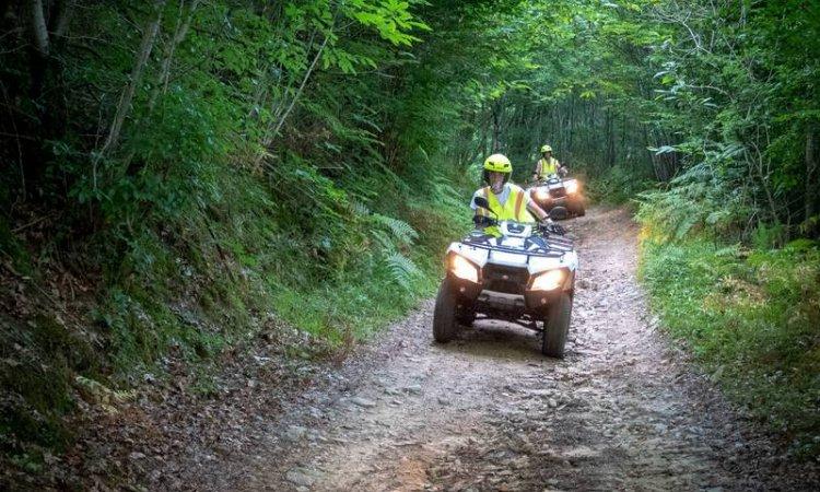 Randonnée quad en Corrèze