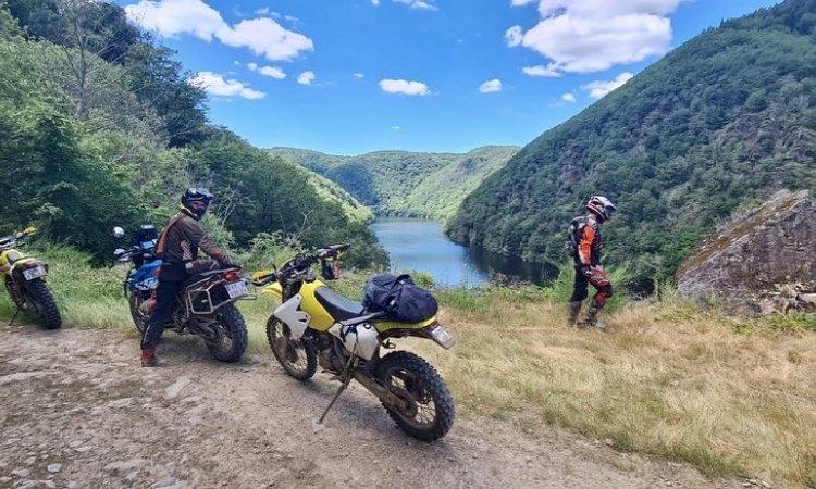 Vue exceptionnelle !! sur la Dordogne Tari et Maxi Trail