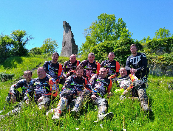 Week end enduro moto Corrèze